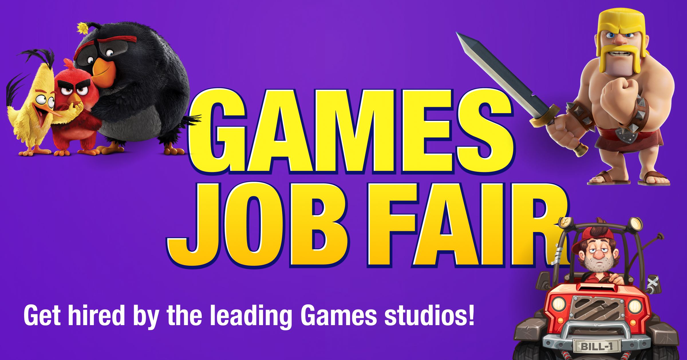 Finland Games Job Fair happening the 21st – 22nd of April